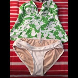 Green lime swimsuit
